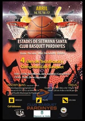 ESTADES SETMANA SANTA CB PARDINYES   2014