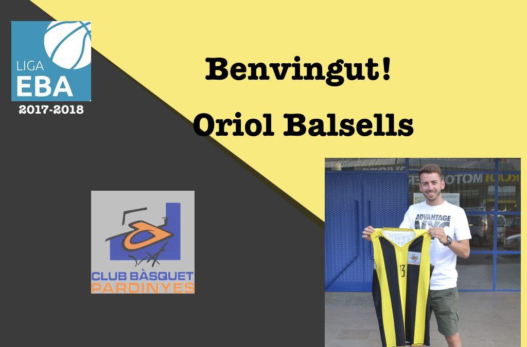Arriba el primer fitxatge del CB Pardinyes, Oriol Balsells