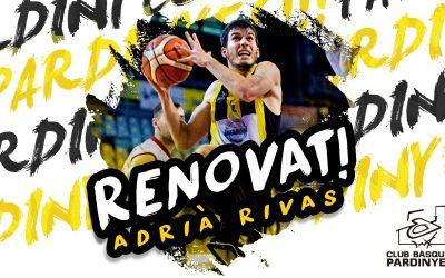 Adrià Rivas, un any més de groc i negre