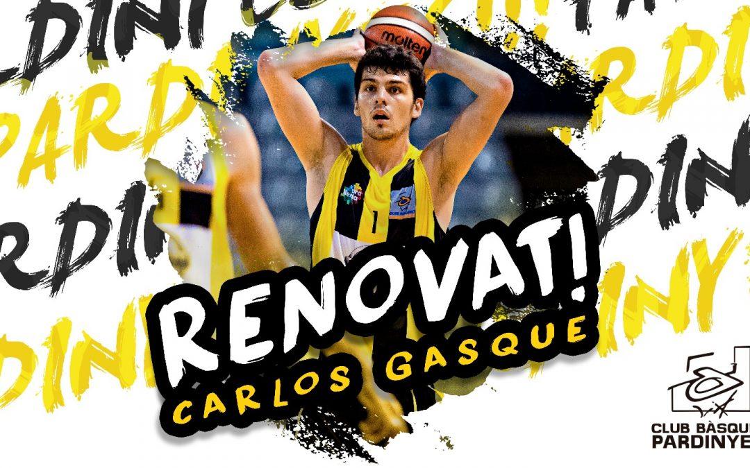 Carlos Gasque, veterania groga i negra