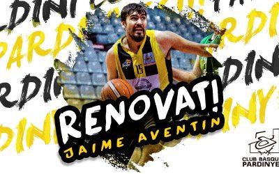 Jaime Aventín renovat