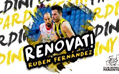 Rubén Fernández continua al Club Bàsquet Pardinyes