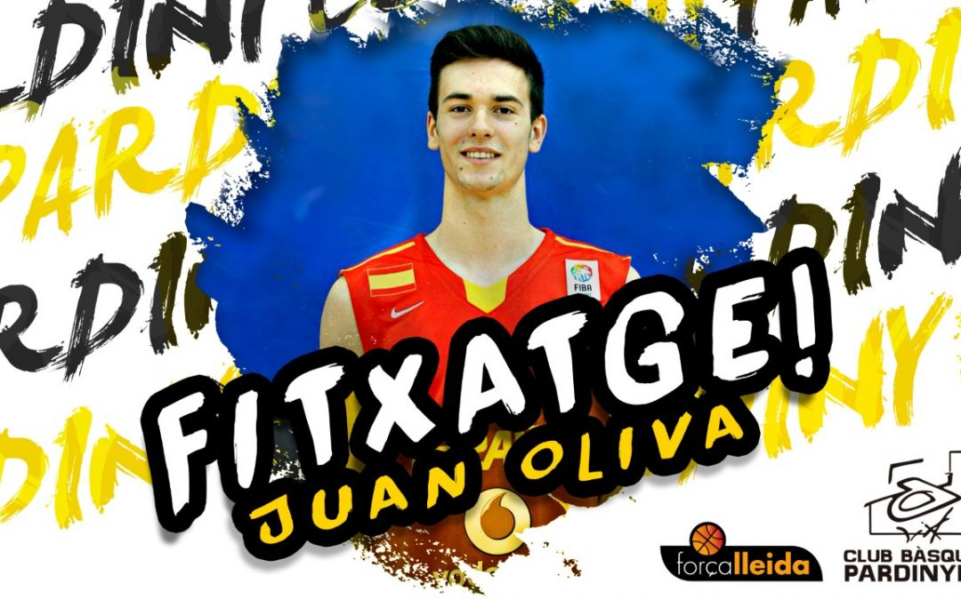 Juan Oliva, setè jugador per la propera temporada