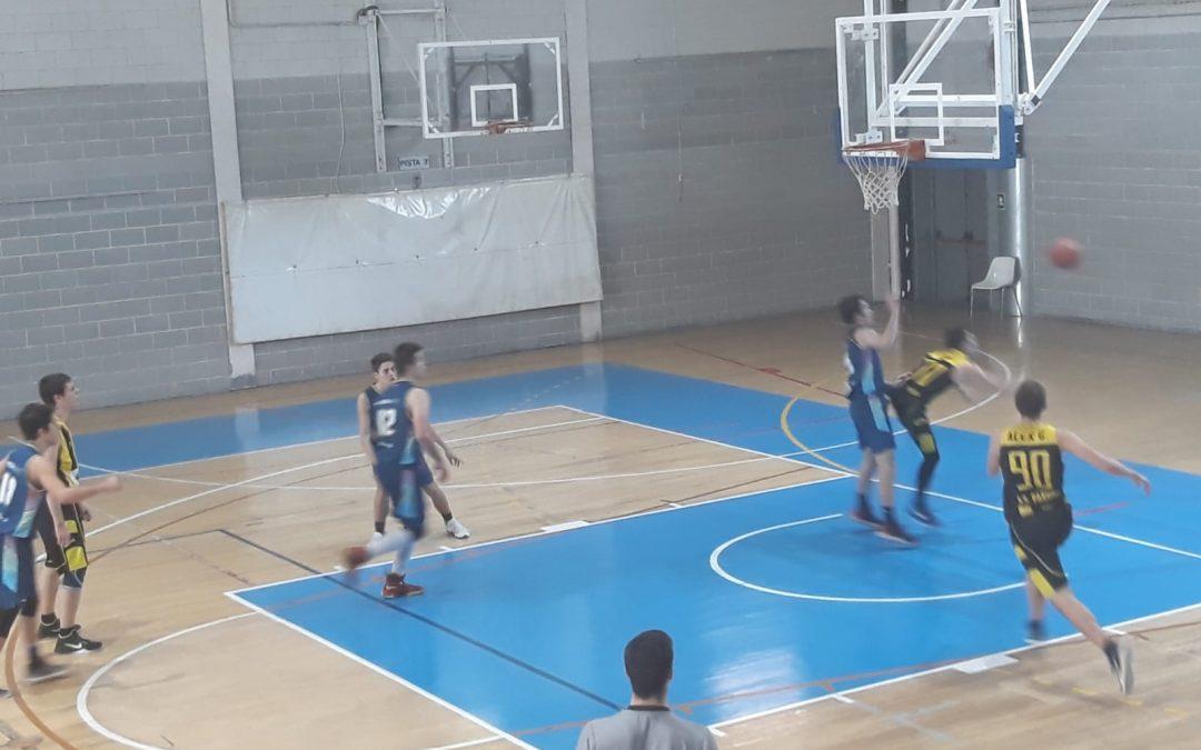"BC Morabanc Andorra ""B"" 45–43 Ilerdauto Nissan Pardinyes Lleida Junior Groc"