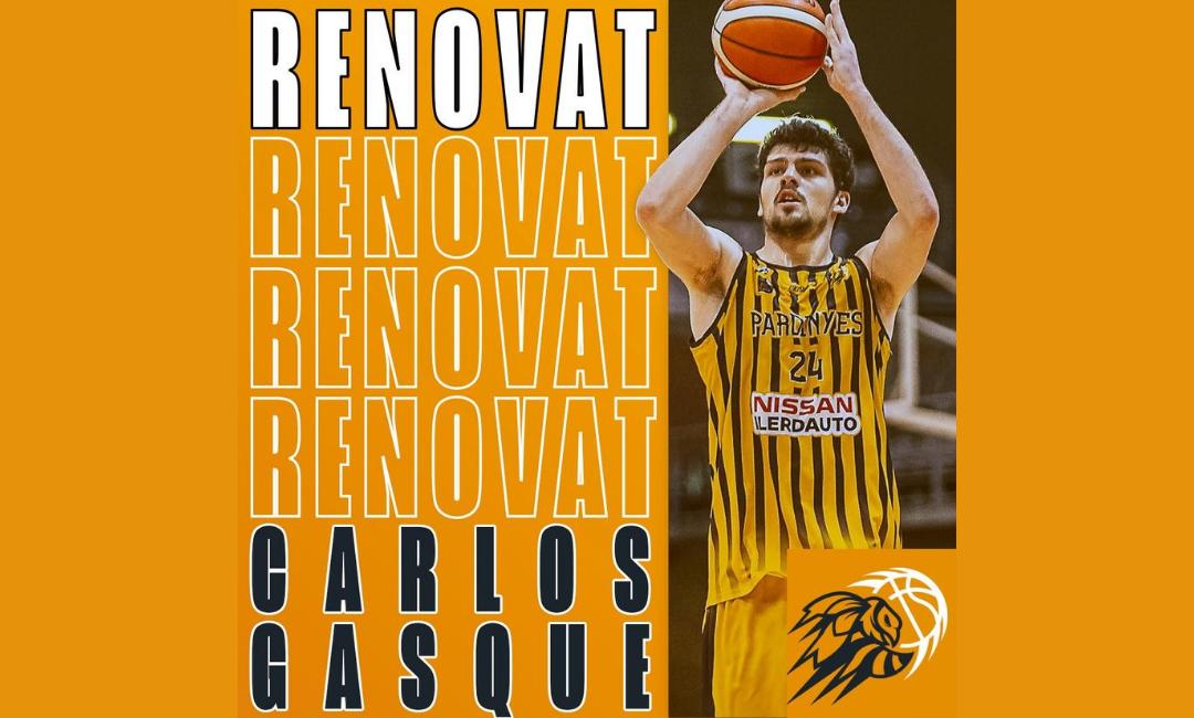 Carlos Gasque, a per la vuitena temporada