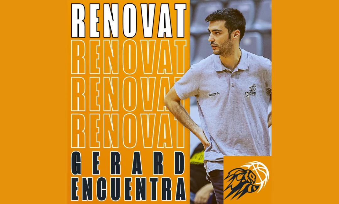 Gerard Encuentra renova amb el CB Pardinyes