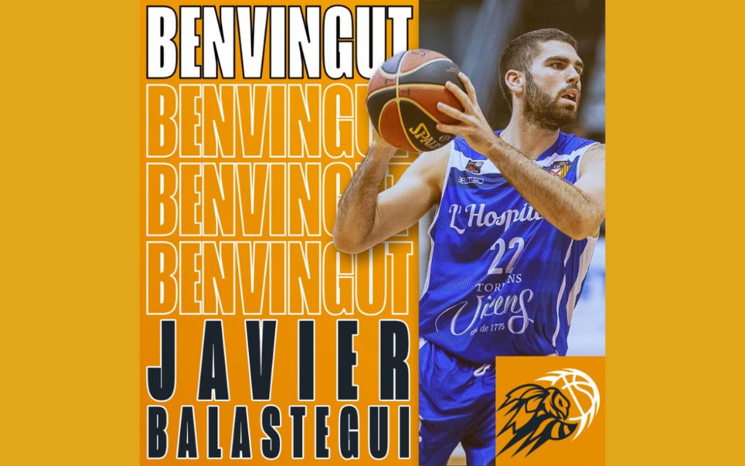Javi Balastegui, nou base groc i negre
