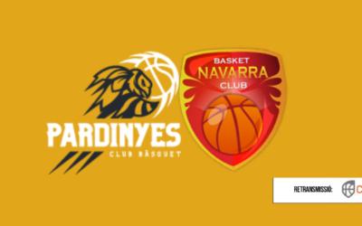 CB Pardinyes – Basket Navarra, un duel de vital importància