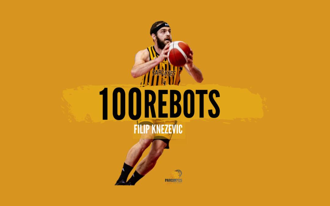 El montenegrí Filip Knezevic arriba als 100 rebots capturats