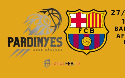 El líder Barça arriba a un Barris amb públic